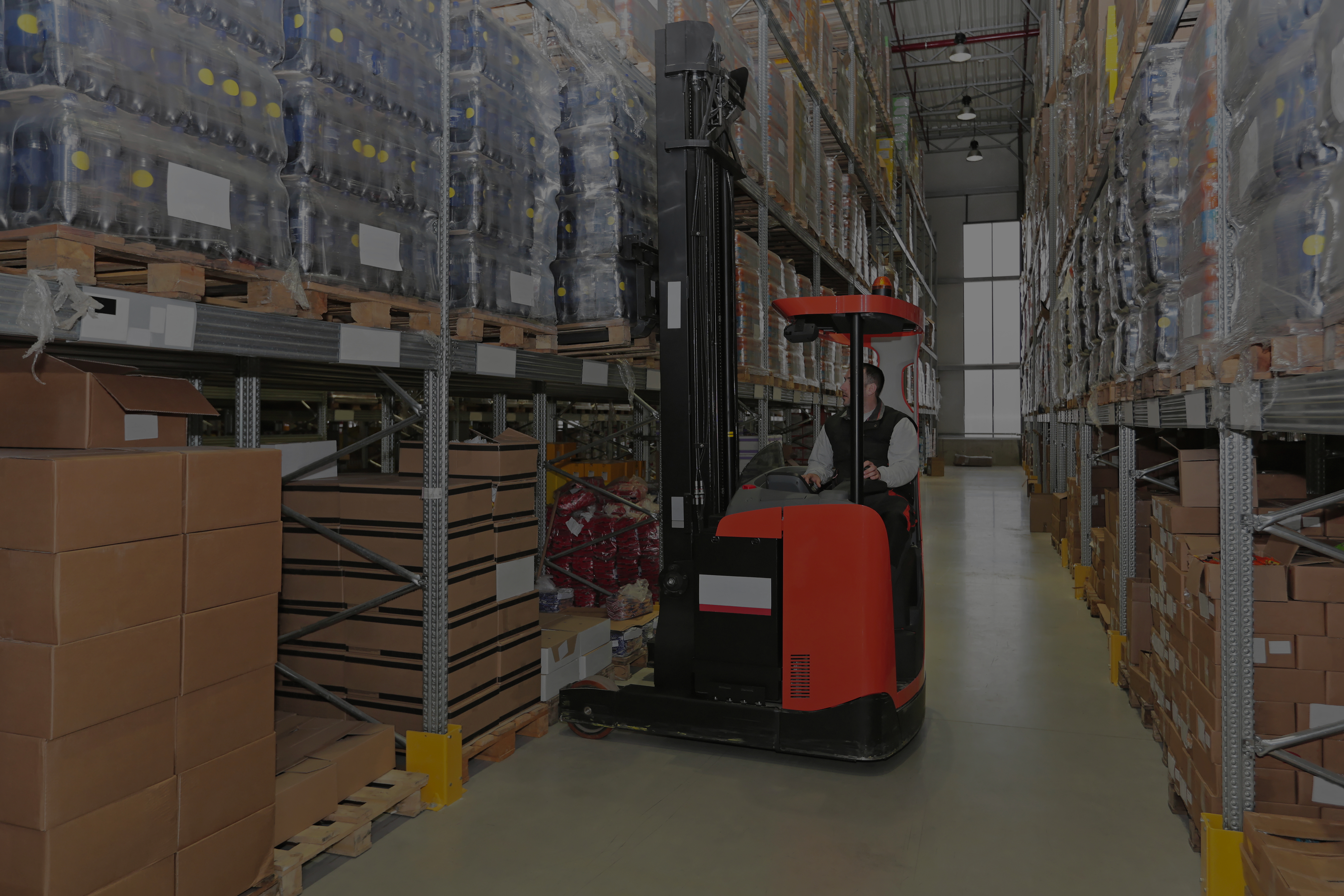 Forklift Nudge Causes Racking Collapse & Southalls 9 Top Tips on Racking Safety
