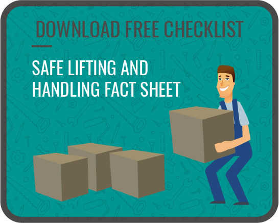 safe lifting and handling builders merchants