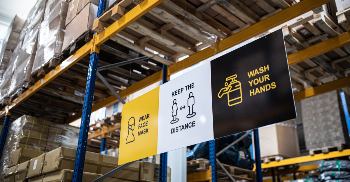 Creating a COVID-Secure Warehouse - Your 8-Point Plan for 2021